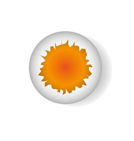 uovo rotto: rotto illustrazione uovo