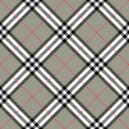 fabric texture in a square pattern seamless diagonal; vector ilustration Vector