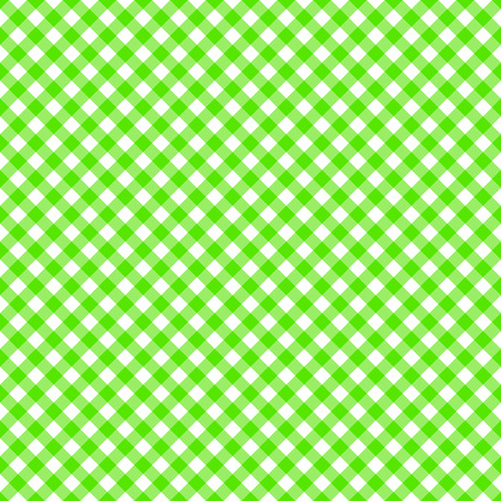 checked: Table cloth seamless pattern green Illustration