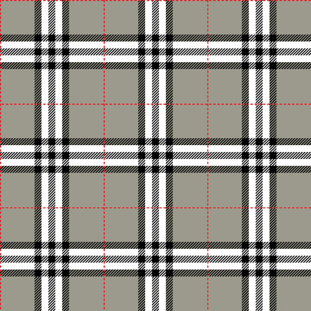 fabric texture in a square pattern seamless; vector ilustration Vector