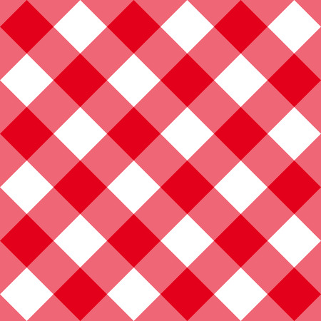 big size: Table diagonal cloth seamless pattern red big size