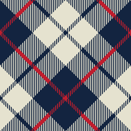 blue and beige fabric texture diagonal pattern seamless vector illustration