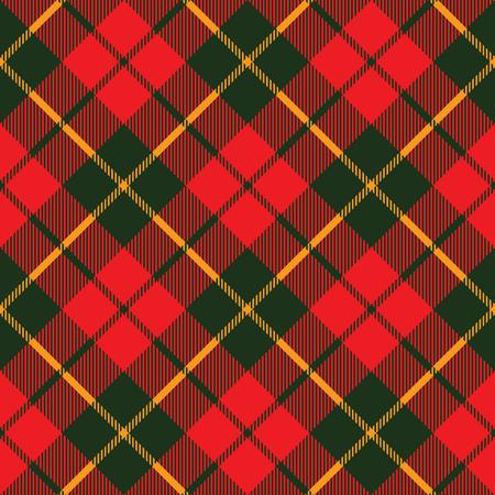 tartan fabric texture diagonal little pattern seamless vector illustration
