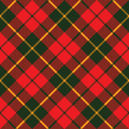 tartan fabric texture diagonal little pattern seamless vector illustration