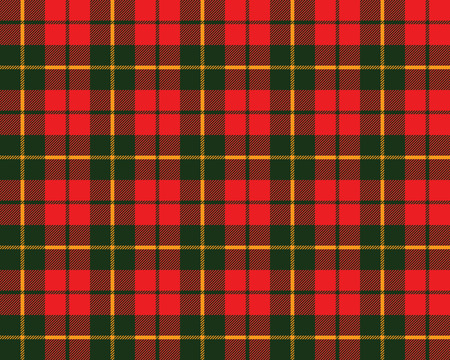 tartan fabric texture pattern seamless vector illustration Vector