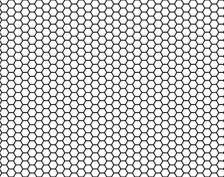 full of holes: honeycomb seamless pattern, vector illustration Illustration