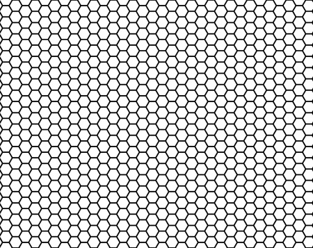 honeycomb seamless pattern, vector illustration Stock Illustratie