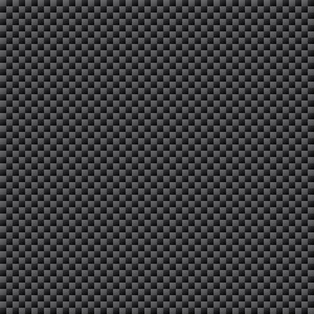 炭素繊維織りのシートのシームレスなパターン、ベクトル イラスト
