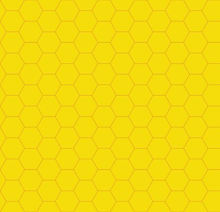 Honeycomb background seamless, vector illustration Vectores
