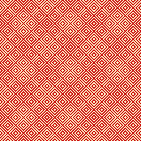 red background endless east diagonal pattern, vector illustration