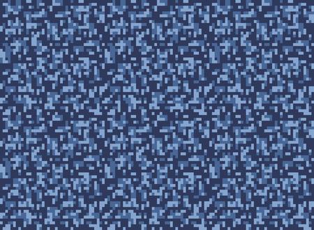 digi: city winter camouflage seamless pixel pattern vector illustration Illustration