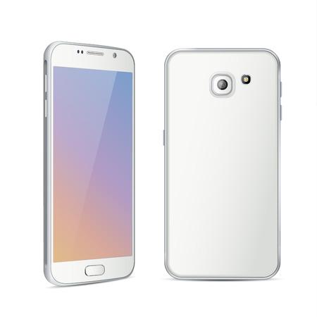 white color: white color smartphone