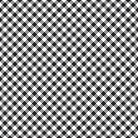 checked plaid fabric seamless pattern vector illustration Illustration