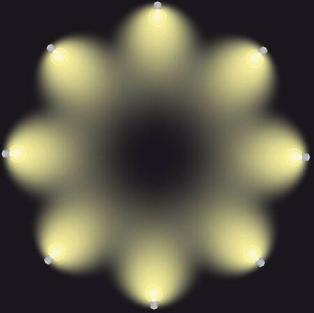 lighting bulb: lighting bulb lamps vector illustration