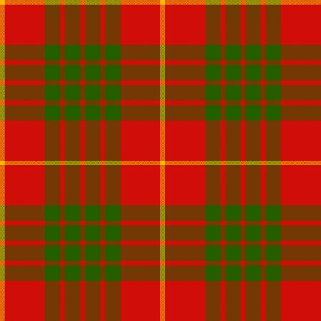 clan: clan cameron tartan seamless pattern vector illustration