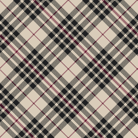 Blackberry tartan seamless diagonal pattern vector illustration Stock Illustratie