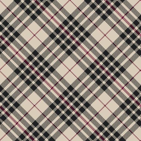 Blackberry tartan seamless diagonal pattern vector illustration Vectores