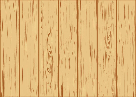 plywood: wooden background from boards vector illustration Illustration