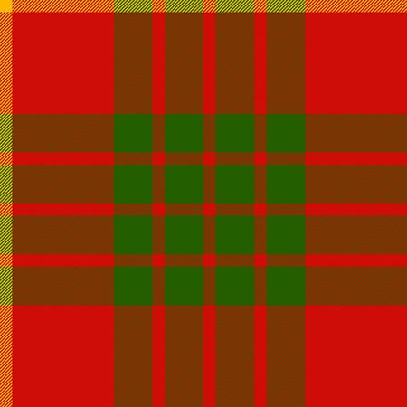 clan: clan cameron tartan seamless background vector illustration