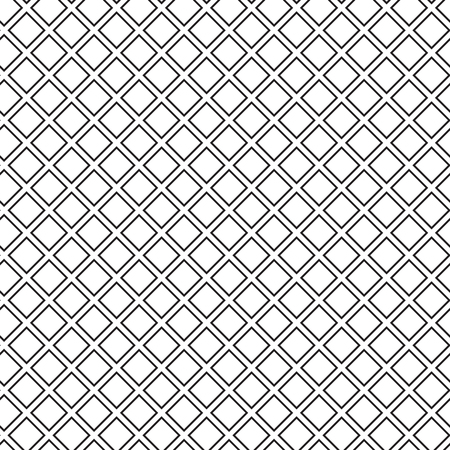 waffle: Seamless waffle texture black and white vector illustration Illustration