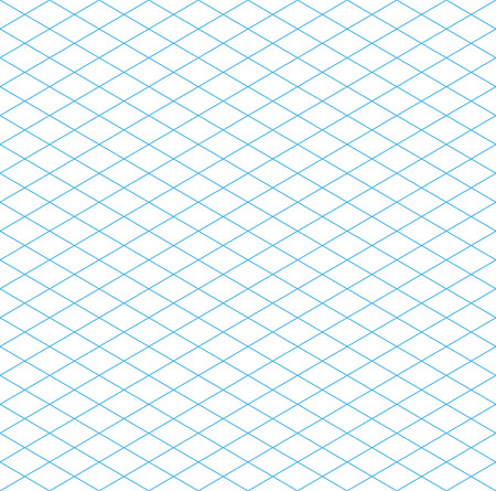 grid paper: Seamless Isometric Grid Pattern, vector illustration, EPS 10