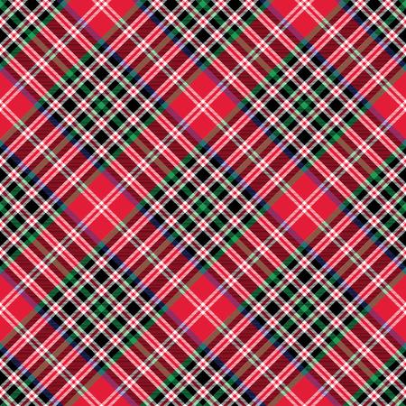 patterning: Kemp tartan fabric texture check diagonal seamless pattern. No transparency. No gradients.