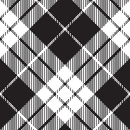 tartan plaid: Macleod tartan plaid diagonal seamless pattern.