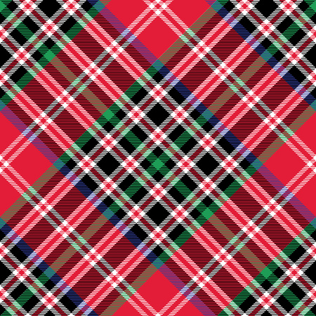 patterning: Kemp tartan fabric texture check diagonal pattern seamless.Vector illustration. EPS 10. No transparency. No gradients.