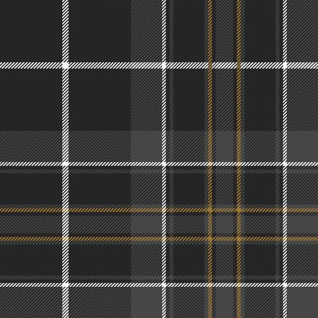 irish pride: Pride of scotland hunting tartan fabric texture seamless pattern .Vector illustration. EPS 10. No transparency. No gradients.