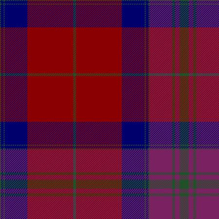 irish pride: Pride of scotland autumn tartan fabric texture seamless pattern .Vector illustration. EPS 10. No transparency. No gradients. Illustration