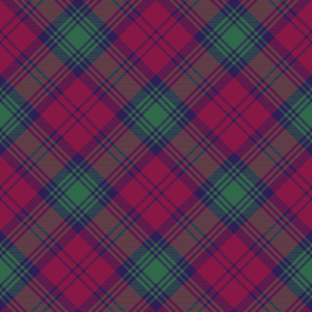 lindsay: Lindsay tartan fabric texture diagonal seamless pattern.Vector illustration. EPS 10. No transparency. No gradients.