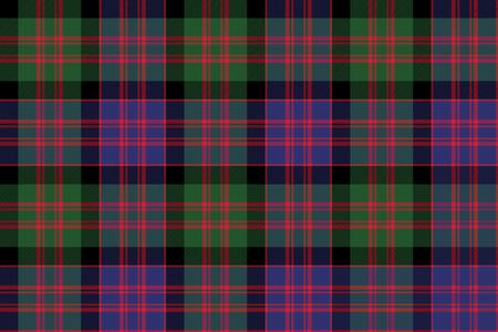 macdonald: Macdonald tartan kilt fabric textile check pattern seamless.