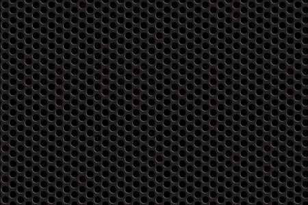 Metal grill seamless background.