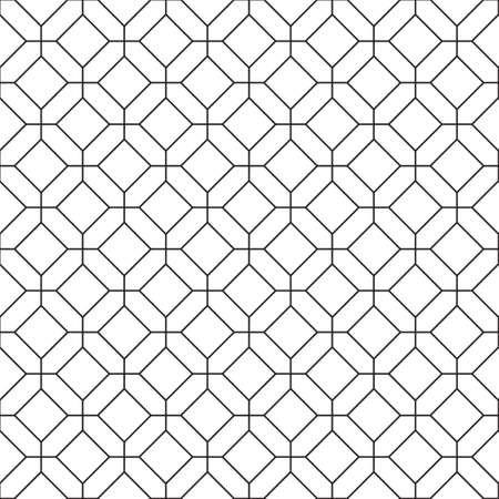 simple: Simple seamless rhombus pattern.