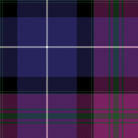 irish pride: Pride of scotland tartan fabric texture seamless pattern.