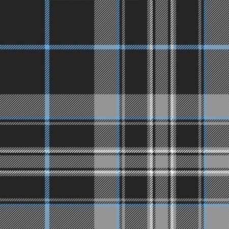 platinum: Pride of scotland platinum tartan fabric texture seamless pattern.