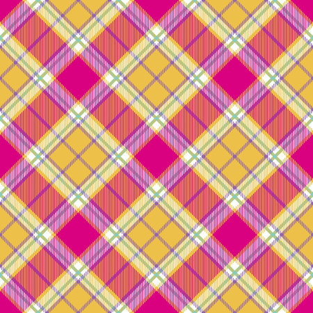 Madras: plaid indian madras diagonal fabric texture seamless pattern.