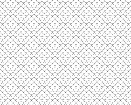 escamas de peces: escamas de pescado sin fisuras horizontales. Vectores