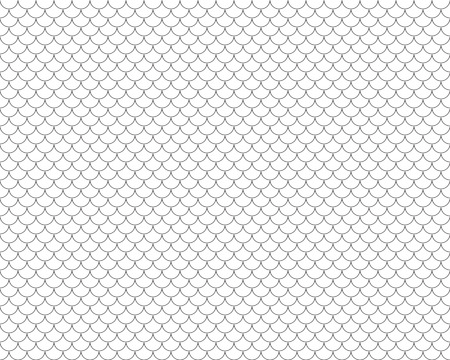 fish with scales: fish scales seamless horizontal. Illustration