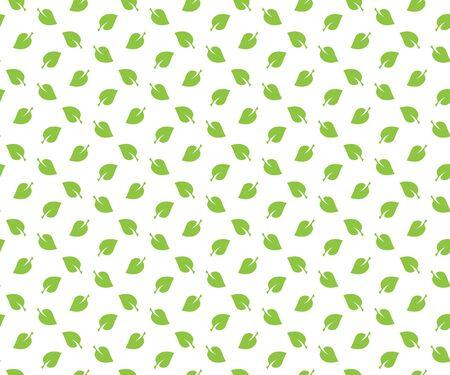 wallpapper: Green spring leaves seamless pattern wallpapper.