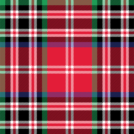 patterning: Kemp tartan fabric textile check pattern seamless.