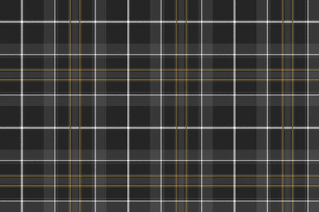 cloth manufacturing: Pride of scotland hunting tartan fabric texture seamless pattern .Vector illustration. Illustration