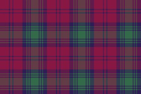 lindsay: Lindsay tartan fabric textile check pattern seamless .Vector illustration. Illustration