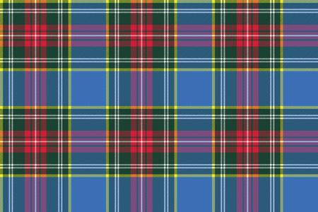 macbeth: macbeth tartan kilt fabric textile check pattern seamless .Vector illustration.
