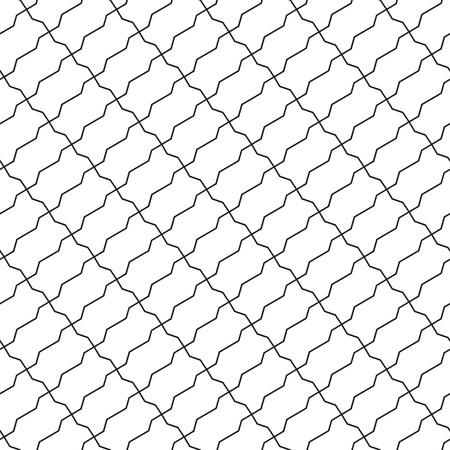 diagonal: shaped bricks diagonal seamless pattern. Vector illustration. Illustration