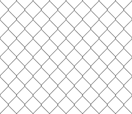 fense: New steel mesh metal fence seamless structure. Illustration