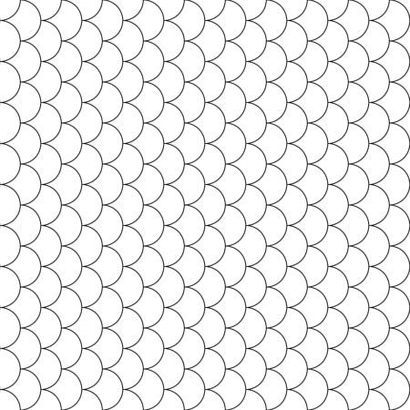escamas de pez: escamas de pescado patr�n transparente de vector ilustraci�n. 10 EPS. Vectores