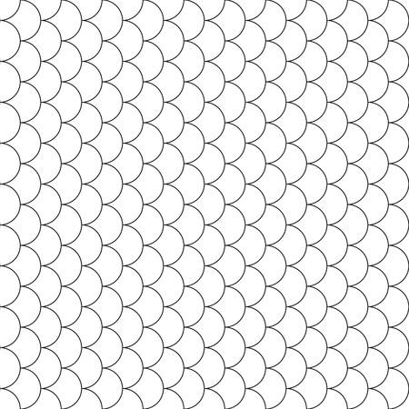 escamas de peces: escamas de pescado patrón transparente de vector ilustración. 10 EPS. Vectores