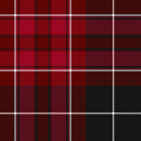 irish pride: Pride of wales fabric texture red and black tartan seamless pattern.