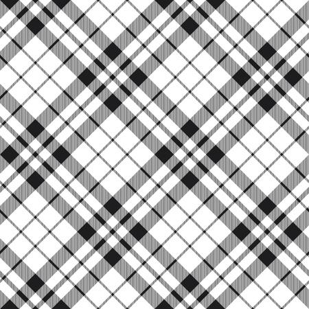 tartan plaid: Hibernian fc tartan plaid seamless background black and white.